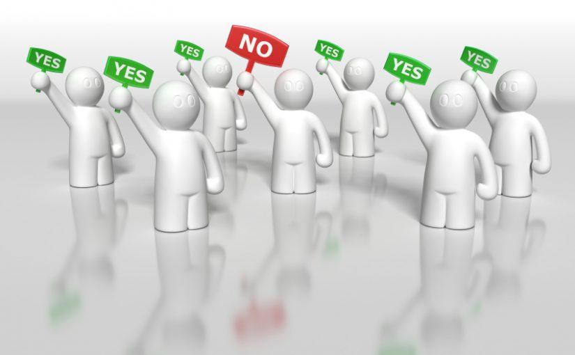 Опрос Democracy — власть большинства.